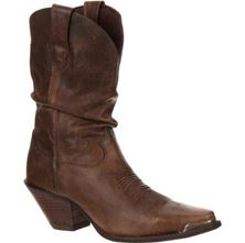 Picture of DISTRESSED SUNSET BROWN SLOUCH BOOT