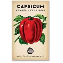 Picture of Little Veggie Patch Co Seeds - Capsicum 'Wonder Sweet Bell""