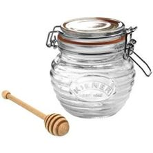 Picture of Kilner Honey Pot & Drizzler Spoon