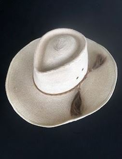 Picture of WIDE BRIM PANAMA COWBOY HAT